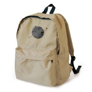 アンモナ(ニャ)イト 黒 Backpack