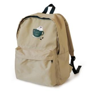コーヒーカップ文鳥☕  (文鳥の日 2021記念) Backpack