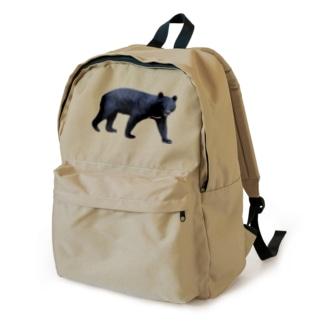 ツキノワグマが歩いてる Backpack