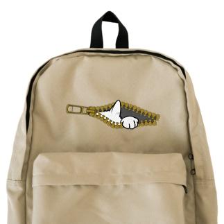 チャックから猫 Backpack