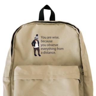 ノルディック帽の少年 Backpack