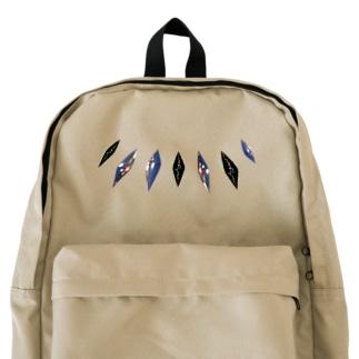 夜を宝石にした backpack