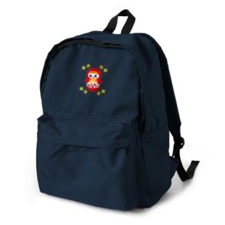 OKIAGARI KOBOSHI(ロゴなし) Backpack