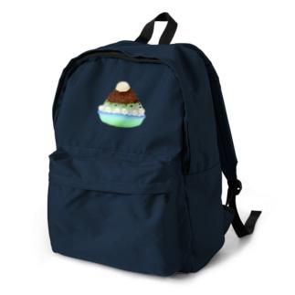 抹茶小豆かき氷 Backpack