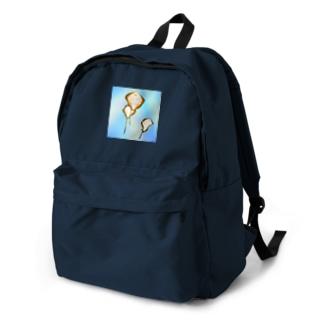 海を漂うアカエイ Backpack