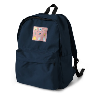 ealBlueItems _Cube PINK Ver. Backpack