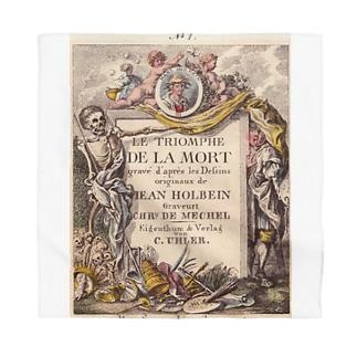 J. Jeffery Print Galleryのハンス・ホルバインの死のアルファベット Bandana