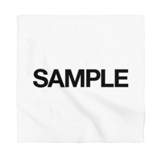 SAMPLE Bandana