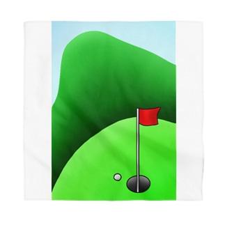 長くのびるゴルフ場 Bandana