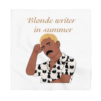 夏の金髪の文豪 Bandana