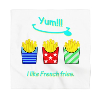 I💛French fries Bandana