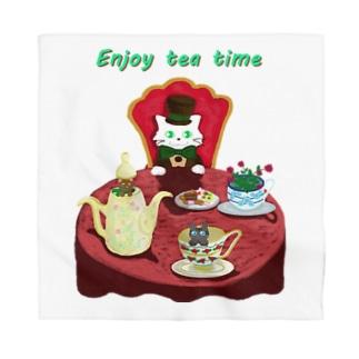 Enjoy tea party♪ Bandana