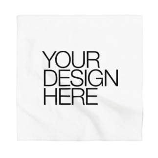 YOUR DESIGN HERE Bandana
