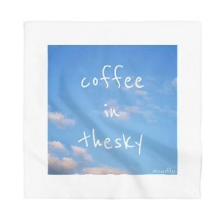 coffee in the sky Bandana