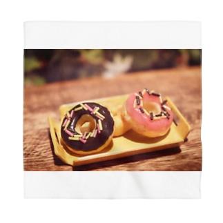 【スイーツ】Prism coffee beanのミニチュアドーナツ Bandana