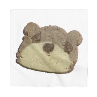 クマさんクッキー Bandana