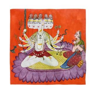 シヴァを崇めるパールヴァティ Bandana