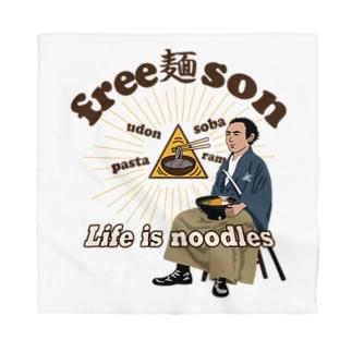 キッズモード某のフリー麺ソン 龍馬 Bandana