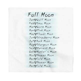 満月のお名前(名前シリーズ2) Bandana