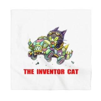 発明家の猫。 Bandana