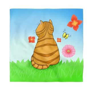 野原のトラ猫さん Bandana