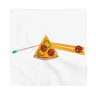 狂気とチーズほとばしるピザ Bandana