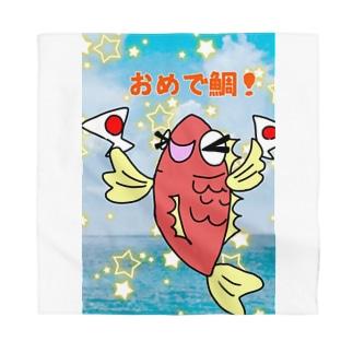 おめで鯛(たい)01-ごろ鯛(たい) Bandana