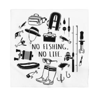(釣りざんまい)釣りに行こうか Bandana