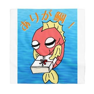 ありが鯛(たい)01-ごろ鯛(たい) Bandana
