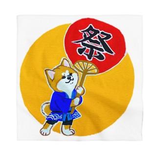秋田犬のお祭りわっしょい Bandana