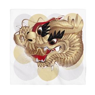 祭り刺繍 Bandana