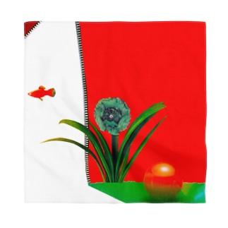 入院日記⑤赤いカーテン Bandana