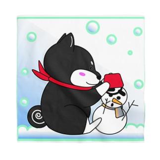 雪だるまできたよー! Bandana