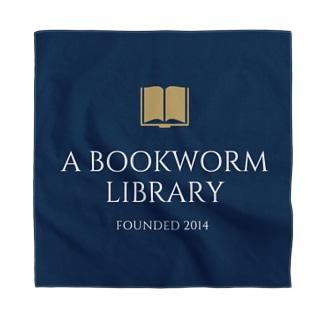 本の虫図書館グッズ Bandana