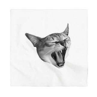 あくび猫 Bandana
