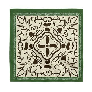 モルモットの魔法の絨毯 緑 Bandana