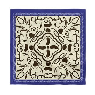 モルモットの魔法の絨毯 青 Bandana