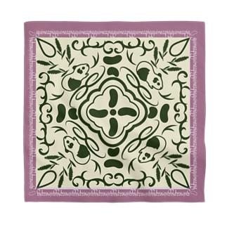 モルモットの魔法の絨毯 ピンク Bandana