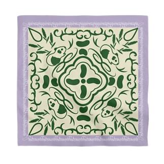 モルモットの魔法の絨毯 紫 Bandana
