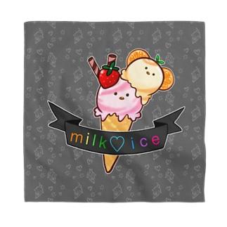 milk♡ice Bandana