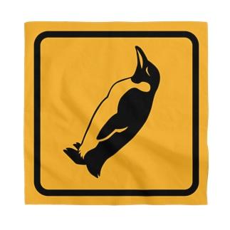 Antarctic signーバンダナー Bandana