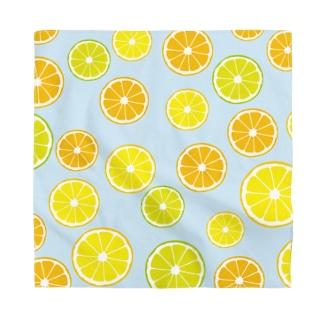 photo-kiokuのオレンジ&レモン&ライム  Bandana