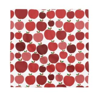 ぎっしり赤リンゴ Bandana