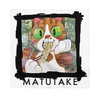 マンボウのいる暮らし「マツタケ」 Bandana