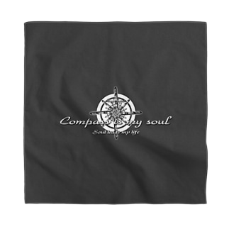 Compass is my soul Bandana