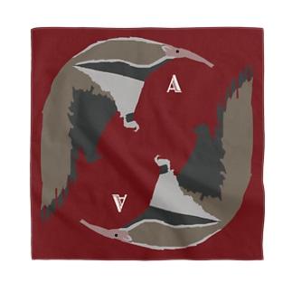 AWZオオアリクイ(正方形) Bandana