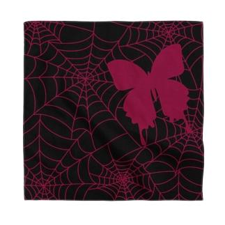 蜘蛛の巣と蝶🦋🕸 Bandana