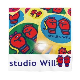 studio Will×INGRIDバンダナ_A Bandana