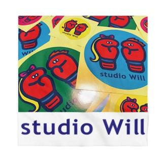 studio Will×INGRIDバンダナ_B Bandana