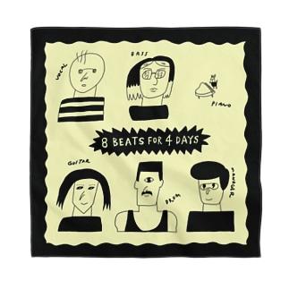 『8 BEATS FOR 4 DAYS』 Bandana